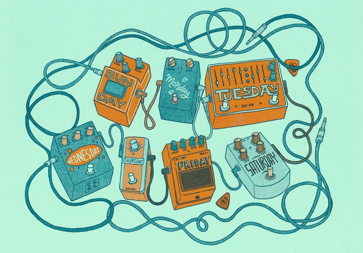 tdk 7 guitar pedal